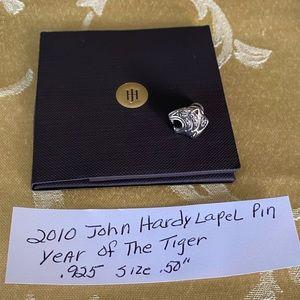 John Hardy 2010 year of tiger Lapel Pin